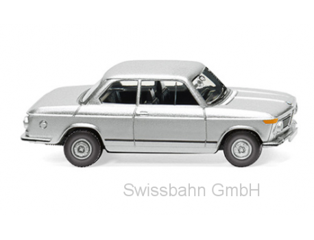 Wiking 018306 Alter BMW 2002, silber - H0