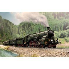 "Märklin 39436 Set 5tlg. Dampflok S 3/6, die ""Hochhaxige""  - Mfx Plus"