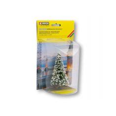 NOCH 22130 Beleuchteter Weihnachtsbaum mit LED Lichter - H0