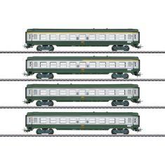 Märklin 40691 Französisches Schnellzugwagen-Set, Tin Plate / MHI Modell