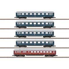 Märklin 87357 DB Schnellzug-Schürzenwagen-Set mit 5 Wagen