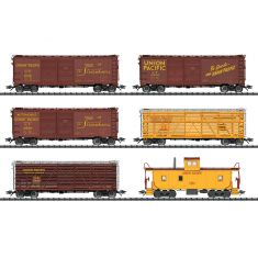 TRIX 24914 Güterwagen-Set, Union Pacific Railroad - 6 Waggons