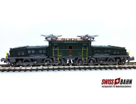 JÄGERNDORFER 62142 SBB Ce 6/8 II Krokodil Exklusiv Modell Sound