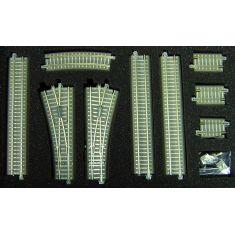 """TILLIG 01833 Gleiserweiterungsset """"Bettungsgleis"""" TT/H0m"""