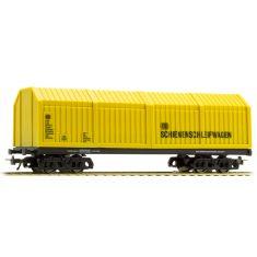 LUX 9014 Gerätewagen- Maschinenwagen ohne Technik, H0
