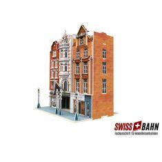 Märklin 72784 3D Gebäude-Puzzle, Wohn- und Geschäftshäuser