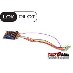 ESU 59610 LokPilot V5.0, 8 Pol NEM 621 Kabelverbindung DCC/MM/SX