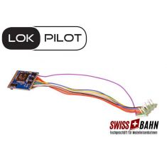 ESU 59620 LokPilot 5 DCC, 8-pin NEM652 Digital Decoder