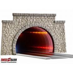 Viessmann 5097 Strassentunnel mit LED Spiegeleffekt - H0