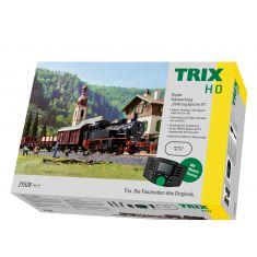 TRIX 21528 Digital-Startpackung Güterzug Epoche III, Mobilstation, H0