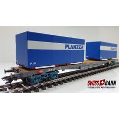 HAG 392 SBB Containerwagen Sgss, Planzer - AC