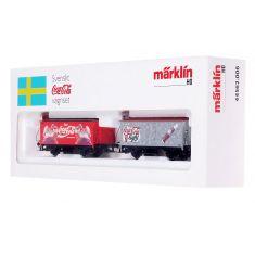 Märklin 44562.006 Svenskt Coca Cola Wagen- Set H0
