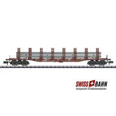 Minitrix 15484.2 Doppelrungenwagen Snps 719, Stahltransport