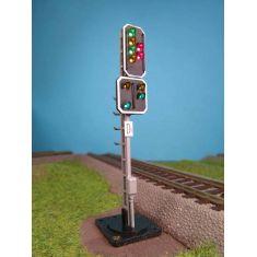 Alphamodell 6242 Hauptsignal / Ausfahrvorsignal - LED