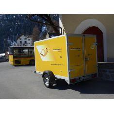 VK-Modelle 04232 Postauto- Anhänger, Schweizer Post H0