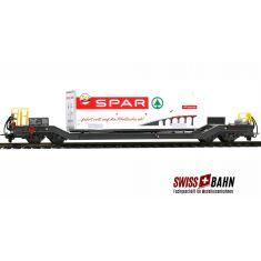 BEMO 2289 110 RhB Niederflurtransportwagen - Spar Berge