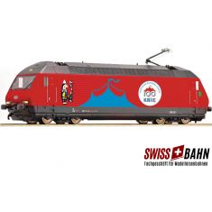 "Fleischmann 731501 - SBB Elektrolok Re 460 058-1 ""Circus Knie"""