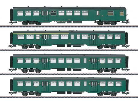 Märklin 43547 SNCB Personenwagen-Set M2