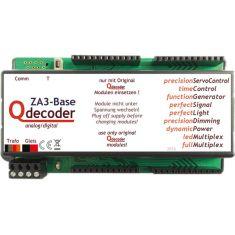 Qdecoder ZA3 Base - Servo und Lichtdecoder