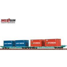 BRAWA 48103 FS Containerwagen Sffggmrrss