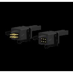 BRAWA 93717 6-polige elektrische Kupplung für Normschacht