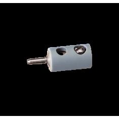 BRAWA 3007 Querlochstecker, ∅ 2,5 mm, Grau, 10 Stück