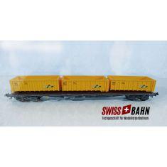 HAG 75008 SBB Abroll Containerwagen Slnps-x acts