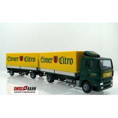 AWM 55104 MAN TGA XL Pritschen-Hängerzug - Elmer Citro