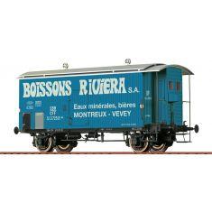 BRAWA 47879 SBB Güterwagen Gklm - Riviera H0