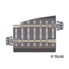 TILLIG 83707 Gleisstück gebogen R22 - TT/H0m