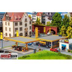 FALLER 130589 Moderne JET-Tankstelle - H0