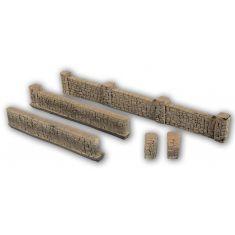 NOCH 58282 Mauern aus Sandstein - Einfriedung H0