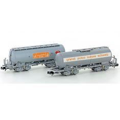 HOBBYTRAIN 23491 SBB Silowagen Set 2-tlg. Ep.4/5