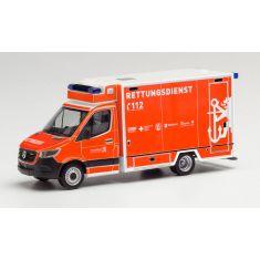 HERPA 96027 Mercedes Sprinter 18 Fahrtec RTW - H0