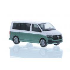 RIETZE 11674 VW T6.1 weiss/metallic-grün H0