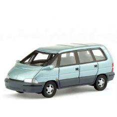 BOS 87706 Renault Espace II, metallic-hellblau, Resin, H0