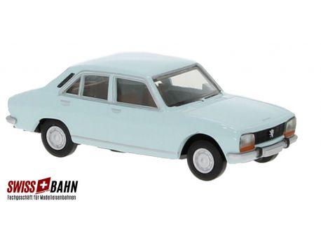 BREKINA 29117 Peugeot 504, hellblau, H0