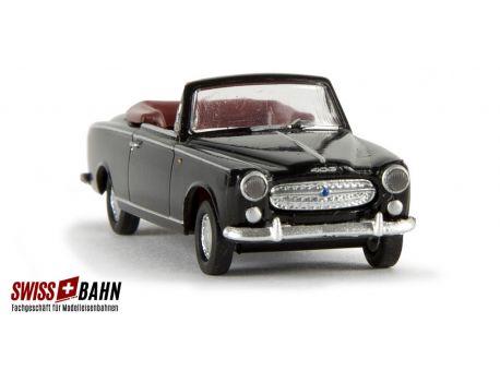 BREKINA 29151 Peugeot 304 - schwarz, H0