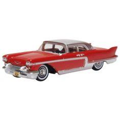 OXFORD 241082 Cadillac Eldorado Brougham, rot/silber, 1957