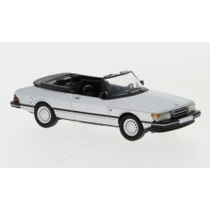 PCX 245758 Saab 900 Cabriolet, silber, 1986