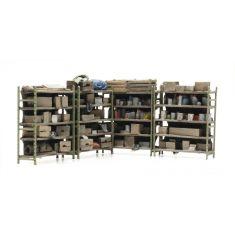 ARTITEC 387434 Gestelle mit Kleinteilen- Fertigmodell H0