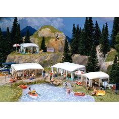 Faller 130503 Camping Wohnwagen-Set