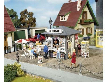 POLA 330995 Susi's Zeitschriftenkiosk. Aufkleber und Reklameschilder
