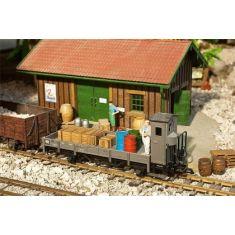 POLA 331045 Ausschmückungs Set Nebenbahn Ladegut mit 23 Gütern