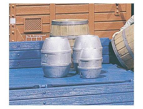 POLA 333202 Bausatz mit 4 Bierfässer