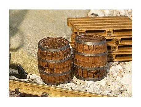 POLA 333211 - 2 Holzfässer handbemalt