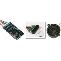 ESU 56499 LokSound V4.0 Universalgeräusch 6-Pin NEM651