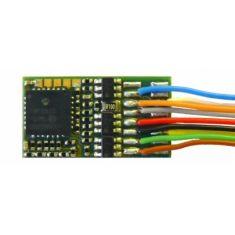 ZIMO MX630F 6-pol Schnittstelle NEM651 an Drähten