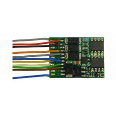 ZIMO MX634 H0 Decoder mit Energiespeicher-Anschluss 1.2A