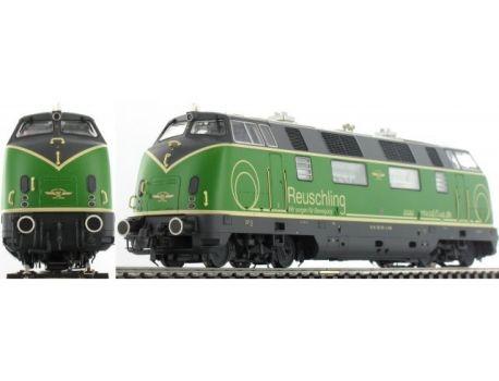 ESU 31082 Diesellok BR 220 Brohltalbahn grün Sound Rauch AC/DC
